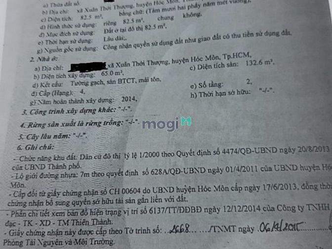 Hình ảnh Bán Gấp Nhà 1T1L, KDC Đại Hải, 2PN, 2WC, Phan Văn Hớn , Đường 6m, 2PN