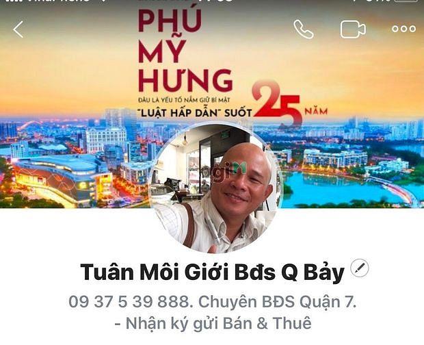 Chính chủ gửi bán nhà khu An Phú Hưng quận 7, Phường Tân Phong.